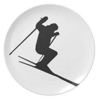 Ski Gear Plate