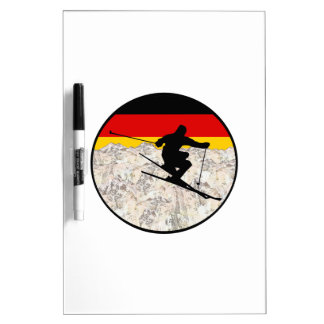 Ski Germany Dry Erase Board