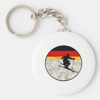 Ski Germany Keychain