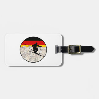 Ski Germany Luggage Tag