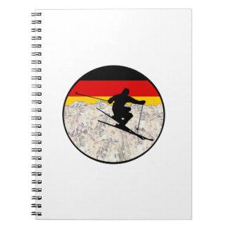 Ski Germany Notebook