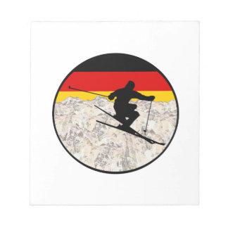 Ski Germany Notepad