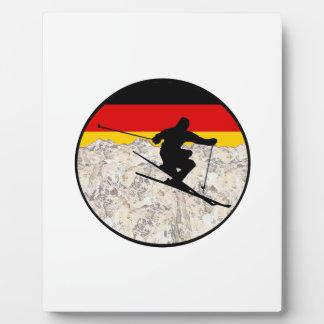 Ski Germany Plaque