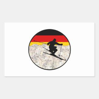 Ski Germany Sticker