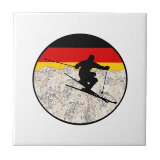 Ski Germany Tile