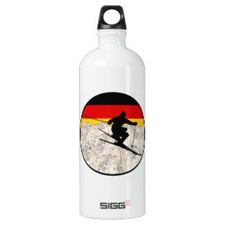 Ski Germany Water Bottle