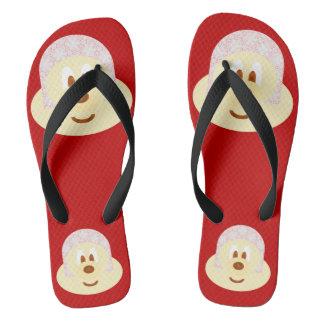 Ski Hat 鮑 鮑 - Adult Flip Flop
