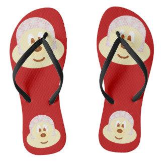 Ski Hat 鮑 鮑 - Adult Slim Flip Flop