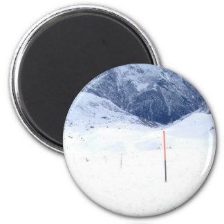 Ski In The Alp Magnet