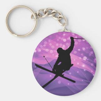 Ski Jump Keychain