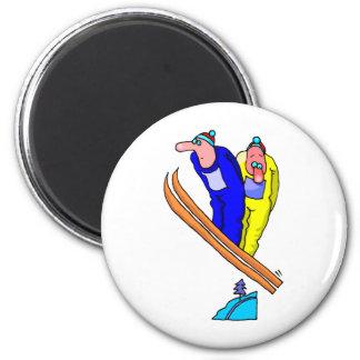 Ski Jump Magnet