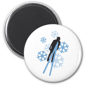 Ski jumping 3c magnet