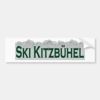 Ski Kitzbuhel Bumper Sticker