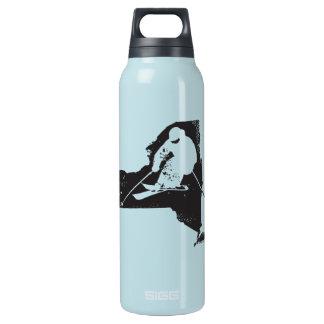 Ski New York Insulated Water Bottle