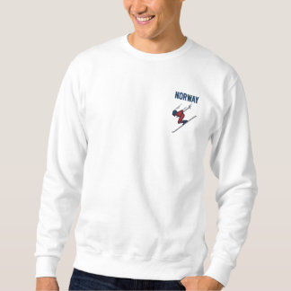 Ski Norway Custom Country Sports Embroidered Sweatshirt