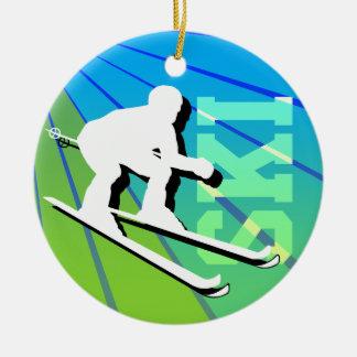 Ski Ornament Add Photo