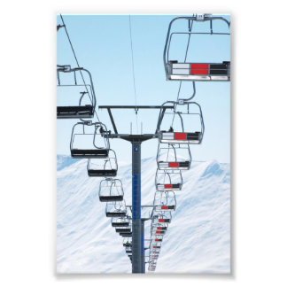 Ski Park Chairlifts Photo
