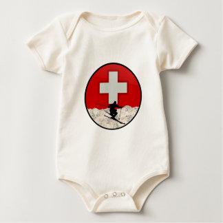 Ski Patrol Baby Bodysuit