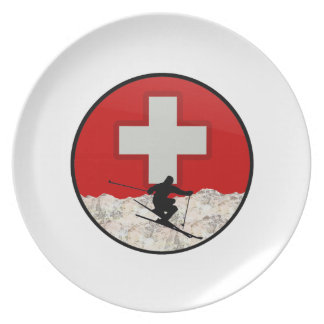 Ski Patrol Plate