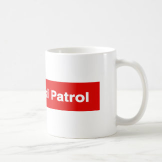 """Ski Patrol"" Ski Trail Sign Mug"