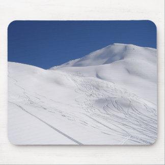 Ski Piste Mousemat Mouse Pad