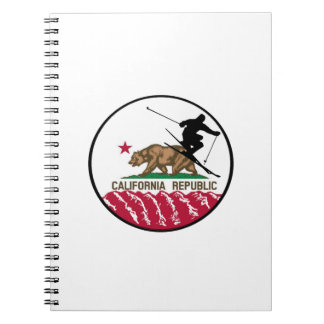 Ski Republic Spiral Notebook