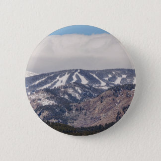 Ski Slope Dreaming 2 Inch Round Button