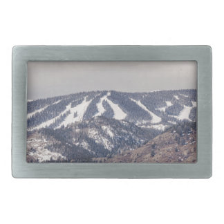 Ski Slope Dreaming Belt Buckles