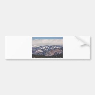 Ski Slope Dreaming Bumper Sticker