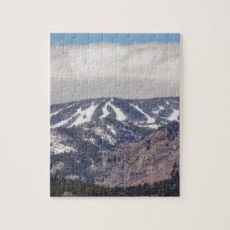 Ski Slope Dreaming Jigsaw Puzzle
