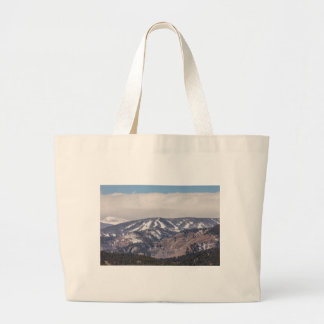 Ski Slope Dreaming Large Tote Bag