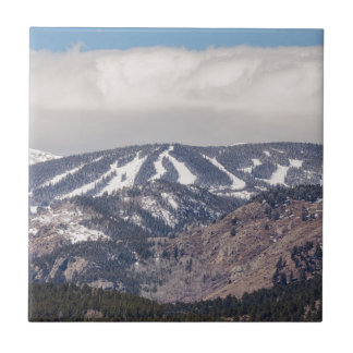 Ski Slope Dreaming Tile
