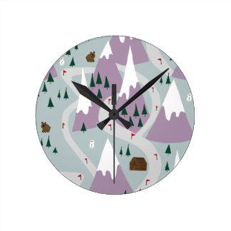 Ski slopes round clock