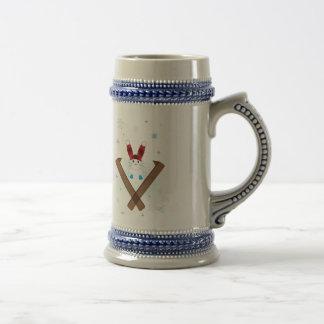 Ski-son's Greetings Coffee Mugs