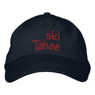 Ski Tahoe Embroidered Hat