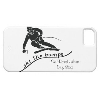 Ski The Bumps iPhone 5 Cover