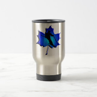 SKI THE HILL TRAVEL MUG