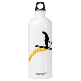 Ski the People Water Bottle