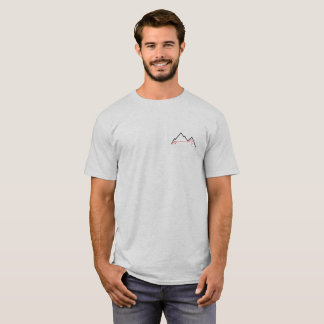Ski Tour Freeski Powder Snow T-Shirt