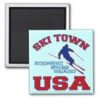 Ski Town USA, Steamboat Springs, Colorado Magnet