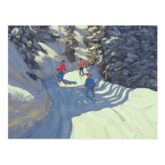 Ski Trail Lofer 2004 Postcard