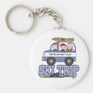 Ski Trip Keychain