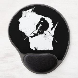 Ski Wisconsin Gel Mouse Pad