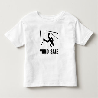 Ski Yard Sale Toddler T-shirt