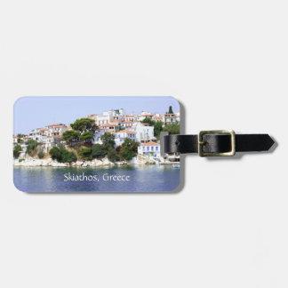 Skiathos Island, Greece Luggage Tag