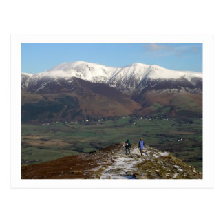 Skiddaw from Barrow Postcard