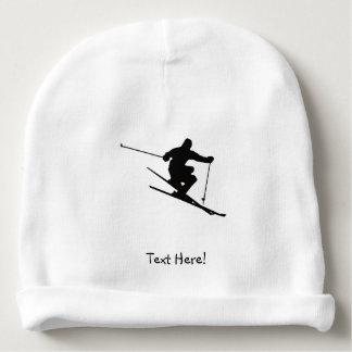 Skier Baby Beanie