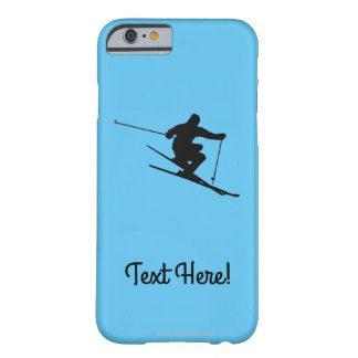 Skier Barely There iPhone 6 Case