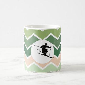 Skier Coffee Mug