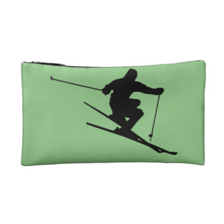 Skier Cosmetic Bag